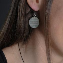 Boucles d'oreilles Alphabet