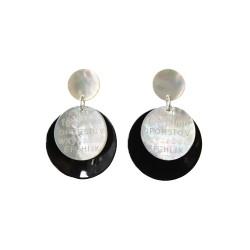 Boucles d'oreilles Alphabet Médium