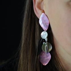 Boucles d'oreilles Attrape-Rêve Pendantes