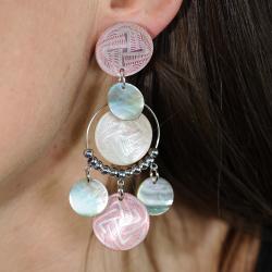 Boucles d'oreilles Torsadée créoles